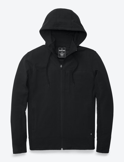 French Terry Zip-Up Hoodie (Mens) | Tommy John