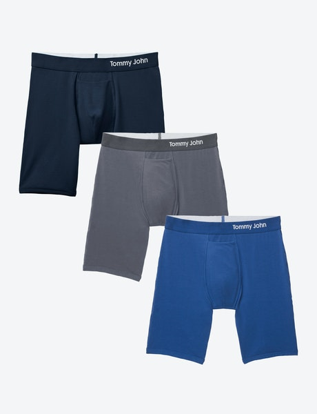 Image of Cool Cotton Boxer Brief 3 Pack