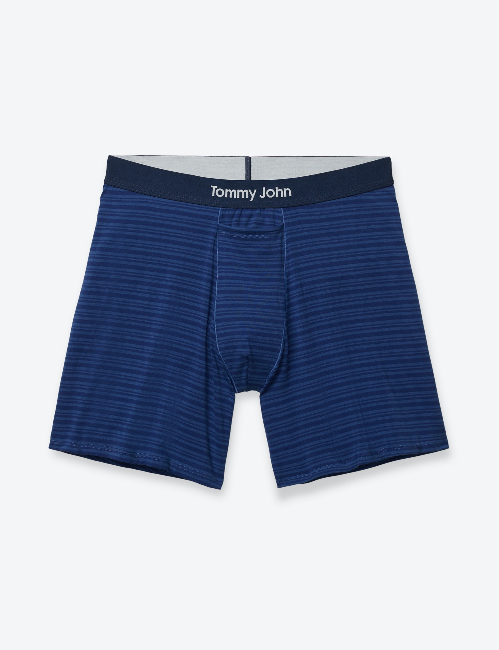 Image of Cool Cotton Mitch Stripe Relaxed Fit Boxer