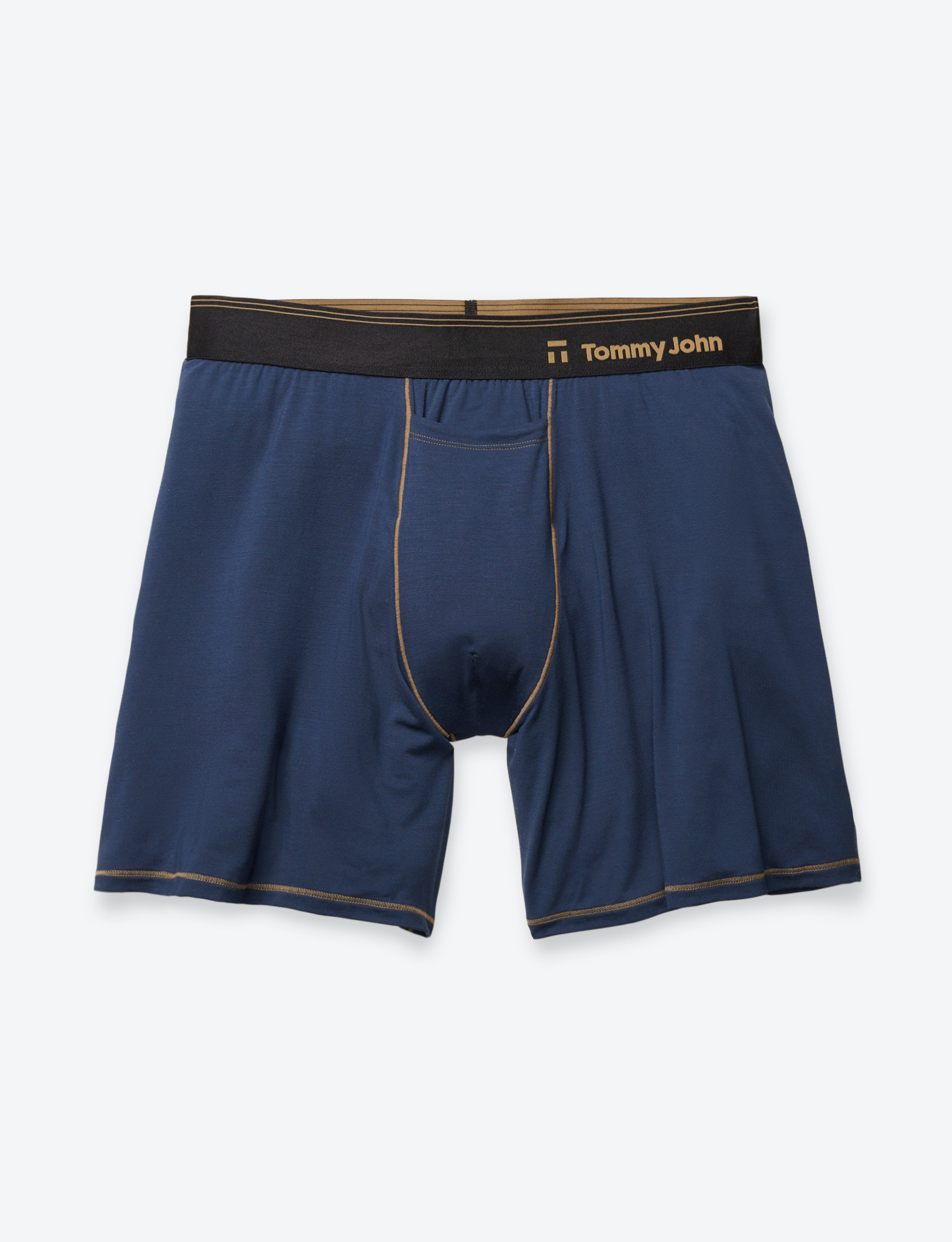 Image of Second Skin Gold Thread Relaxed Fit Boxer