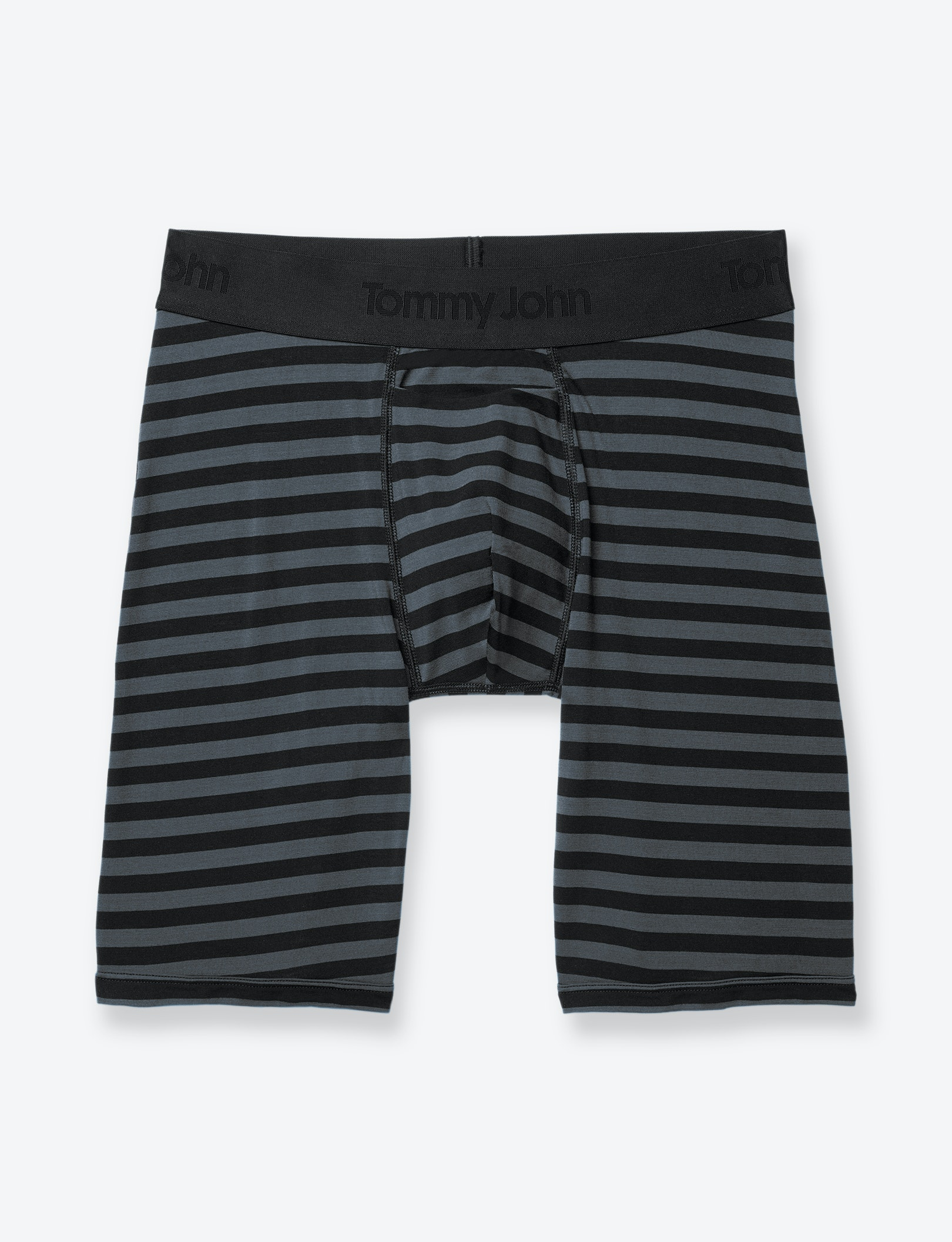Image of Second Skin Wide Stripe Boxer Brief
