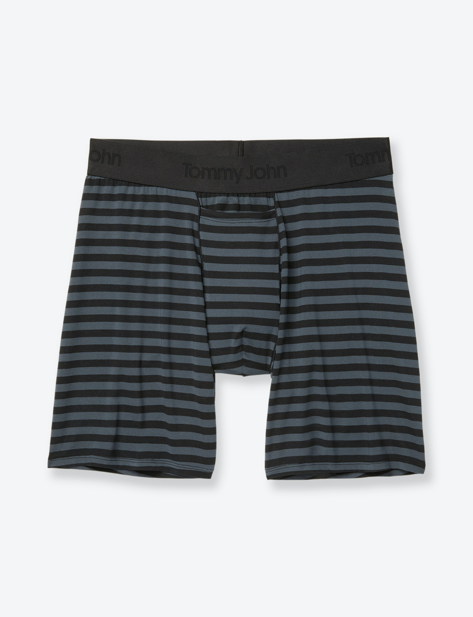 Image of Second Skin Wide Stripe Relaxed Fit Boxer