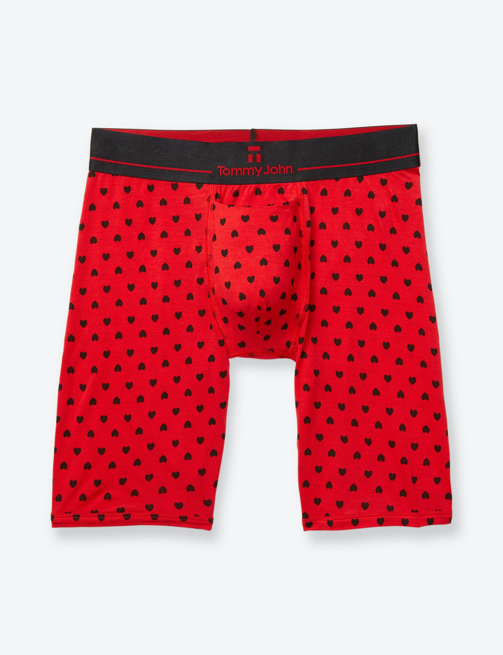 Valentines Day Second Skin Heart Boxer Brief (Soft Underwear) | Tommy John